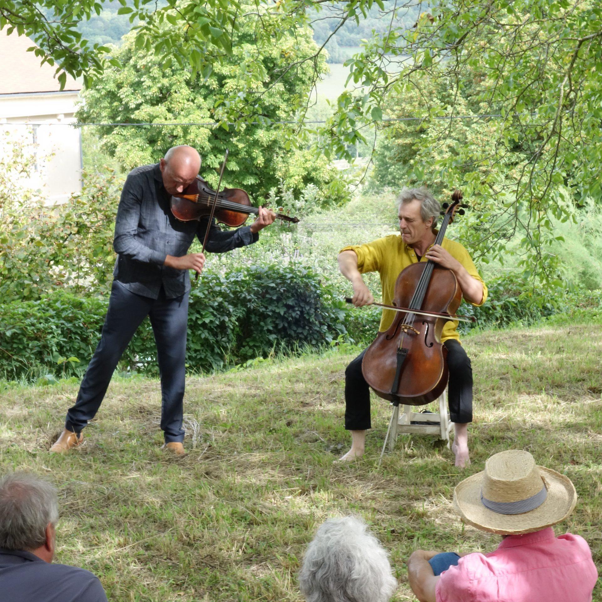 Guillaume Roy et Didier Petit